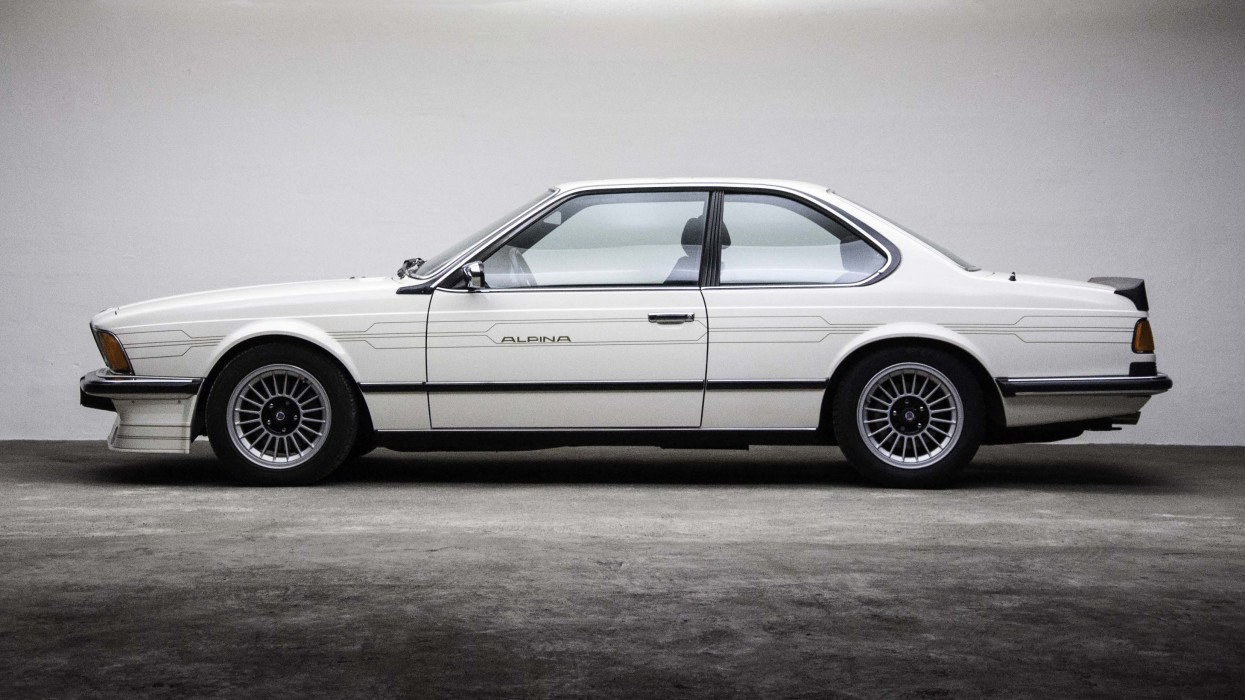 1985 Alpina B7 Turbo Coupe 1